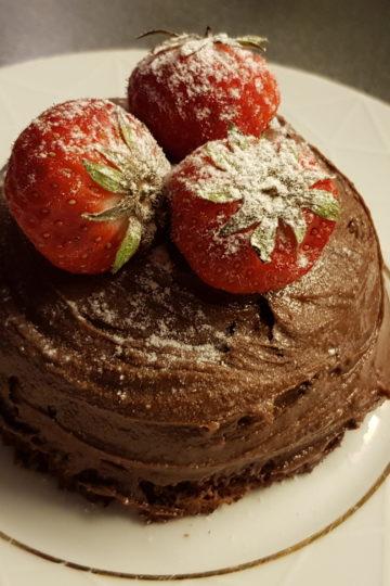 lavkarbo sjokoladekake i mikro