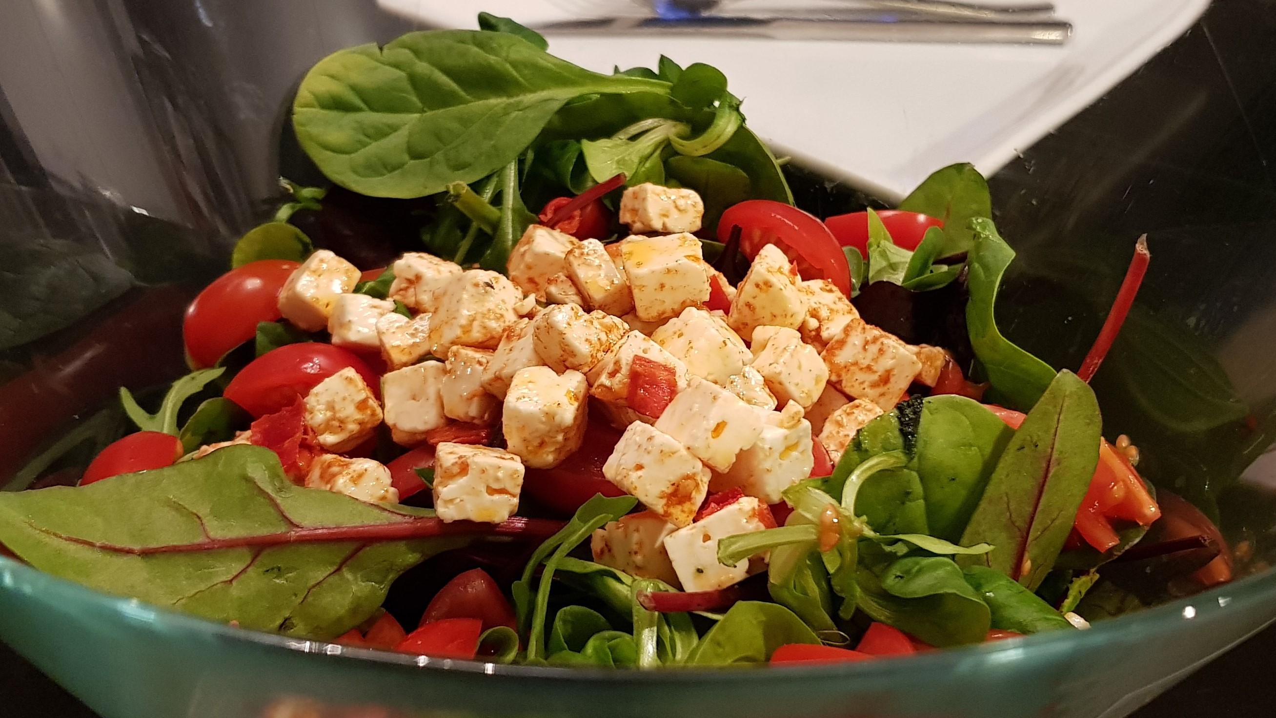Frisk og enkel salat