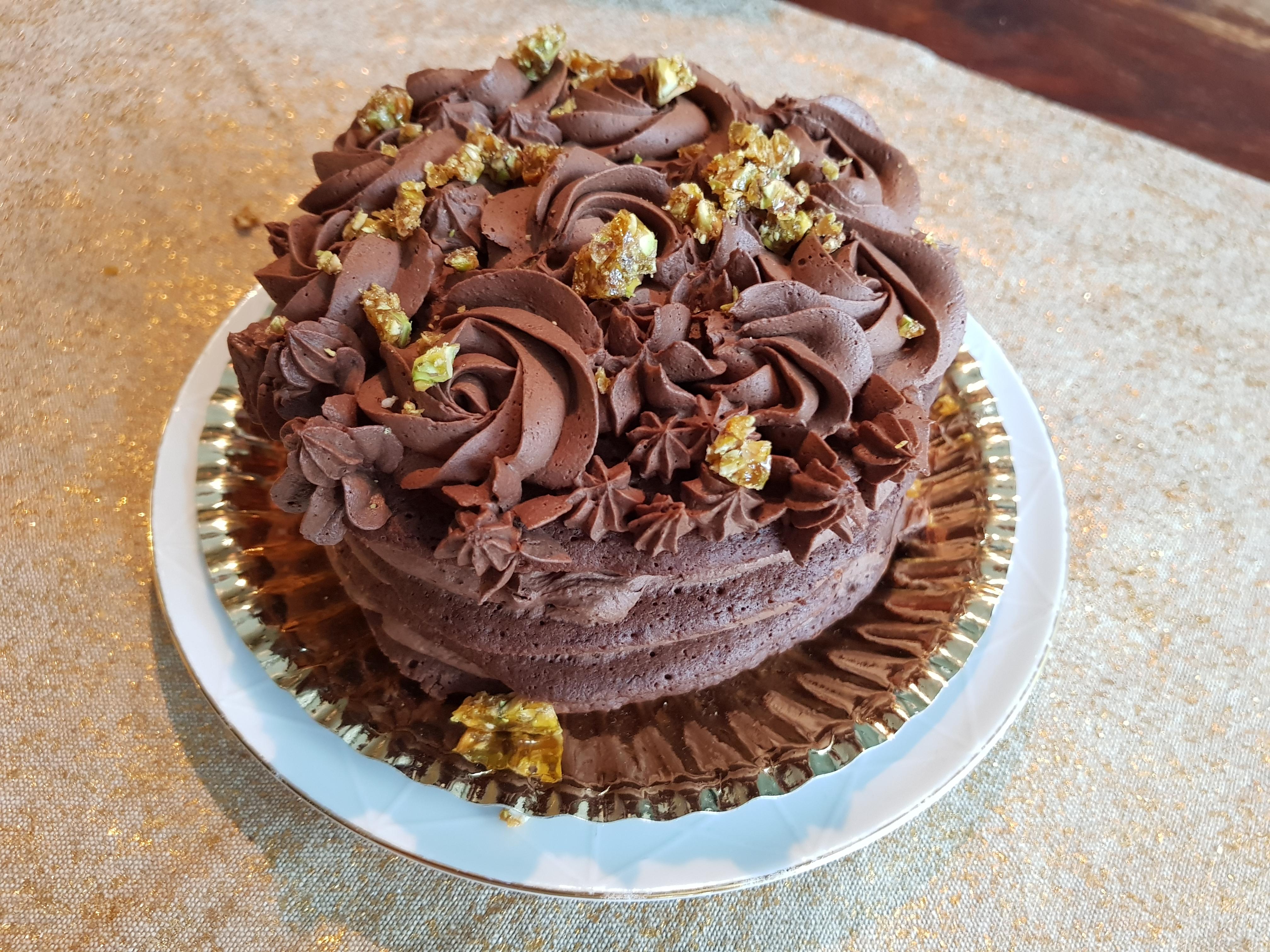 Lavkarbo 4-lags Sjokoladekake i mikrobølgeovn!