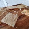 Lavkarbo salte kjeks på minutter!